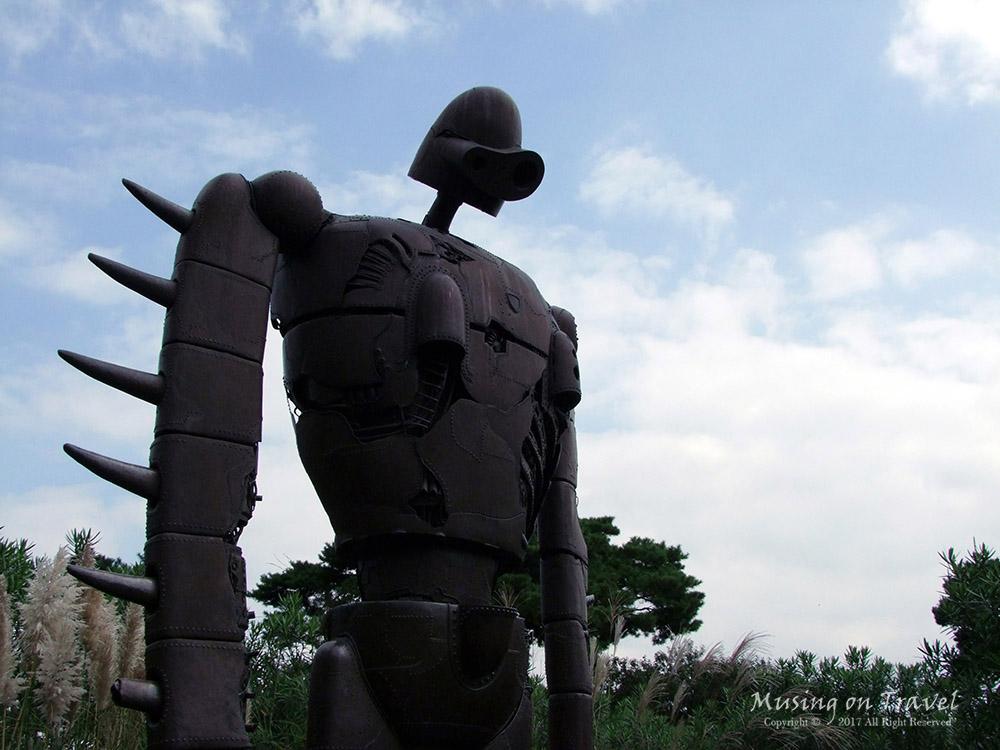 지브리 미술관 천공의성 라퓨타의 거신병