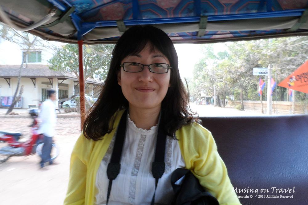 캄보디아 툭툭 택시